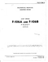 T.O. 1F-106A-3 Technical manual Structral repairs F-106A & F-106B