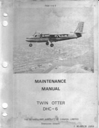 PSM-1-6-2 Maintenance Manual Twin Otter DHC-6