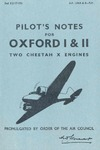 A.P. 1596A&B Pilot's Notes for Oxford I & II - 2nd Edition
