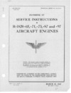 T.O. No 02-35GC-2 Handbook of service instructions for the Model R-1820-65 Engine