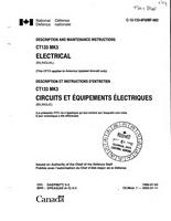 C-12-133-0F0 - Description and maintenance instructions CT133 Mk3 Electrical