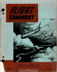 Flight Comment 1954 - 1
