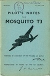 A.P. 2019C Pilot's Notes for Mosquito TIII - 4th edition