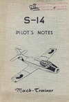 Fokker S-14 Pilot's Notes - Mach Trainer