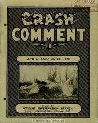 Crash Comment 1951 - 2