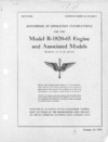 T.O. No 02-35GC-1 Handbook of operation instructions for the Model R-1820-65 Engine