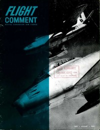 RCAF Flight comment 1960-4