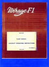 1F-F1K50CZ-1-1 Mirage F1 Flight Manual Aircraft Operating Instructions