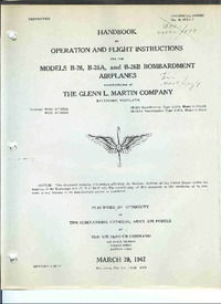 TO 01-35EA-1 Handbook of Operation and Flight Instructions for the Model B-26