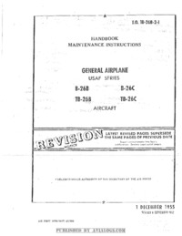 T.O. 1B-26B-2-1 Handbook Maintenance Instructions B-26B, B-26C