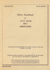 AN 01-245FA-1 Pilot's Handbook for FH-1 Airplanes