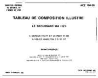 ACE 104-00 Tableau de composition illustre - Le Broussard MH 1521