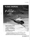 T.O. 1F-100A(I)-1 Flight Manual F-100A (I)