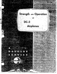 Strenght and Operation of DC-3 Airplanes