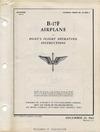 T.O. 01-20EF-1 B-17F Airplane Pilot's Flight Operating Instructions