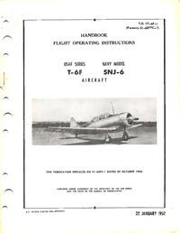 T.O. 1T-6F-1 Flight Operating Instructions T-6F - SNJ-6