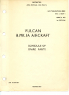 A.P. 4505C Vol3 - Vulcan B.MK.IA Aircraft - Schedule of spare parts