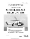 T.O. 1H-52A-1 Flight Manual Model HH-52A Helicopters