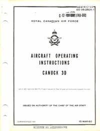 EO 05-25DA-1 Aircraft Operating Instructions CF-100 MK3D