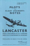A.P. 2062A Pilot's and Flight Engineer's Notes Lancaster Mark I, III & X