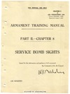A.P. 1243 Armament training manual - Service Bomb Sights