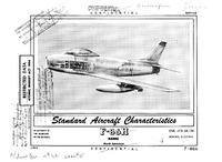 F-86H Sabre Standard Aircraft Characteristics