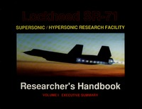 Lockheed SR-71 Researcher's Handbook - Volume 1 Executive Summary