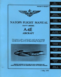 Navair 01-85ADF-1 Natops Flight Manual A-6E Intruder