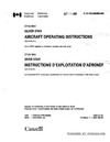 C-12-133-000/MB-002 CT133 MK3 Silver Star Aircraft Operating Instructions