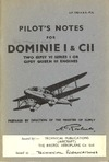 A.P. 1763 A & B - Pilot's Notes for Dominie I & CII
