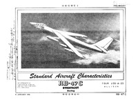 2745 RB-47C Stratojet Standard Aircraft Characteristics - 5 January 1951