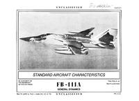 3319 FB-111A Aardvark Standard Aircraft Characteristics - March 1990