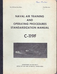 Naval Air Training and operating procedures standardization manual C-119F