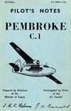 A.P. 4384A Pilot's Notes Pembroke C.1