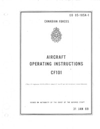 E0 05-185A-1 Aircraft Operating Instructions CF-101