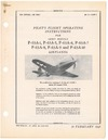 AN 01-110FP-1 Pilot's Flight Operating Instructions for P-63 A1,5,6,7,8,9 & 10