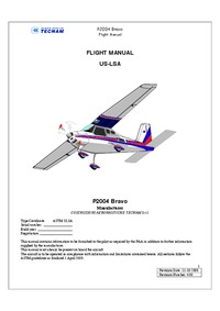 2285 P2004 Bravo Flight Manual