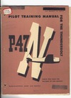 AAF 51-127-4 Pilot Training Manual for the P-47N Thunderbolt