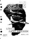 Lockheed U2 Utility Flight Handbook