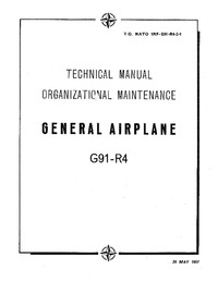 T.O. NATO 1RF-G91-R4-1 Flight Manual G91-R4