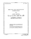 AN 01-135DA-2 Erection and maintenance Instructions for L-2, L-2A and L-2B Airplanes