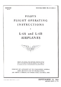 TO 01-140DA-1 Pilot's Flight Operating Instructions - L-4A ad L-4B Airplanes
