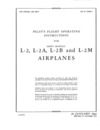 AN 01-135DA-1 Pilot's Flight operating Instructions for L-2, L-2A, L-2B and L-2M airplanes