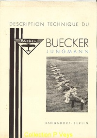 Description Technique du Buecker Jungmann