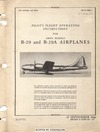 AN 01-20EJ-1 Pilot's Flight Operating Instructions for B-29 and B-29A Airplanes