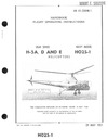 AN 01-230HB-1 Flight Operating Instructions H-5A, D and E helicopters