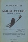 A.P. 2280D&E Pilot's Notes for Seafire XV & XVII