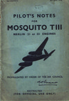 A.P. 2019C Pilot's Notes for Mosquito TIII - 2nd edition