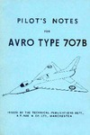 Pilot's Notes for Avro Type 707B