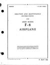 T.O. 01-150JA-2 Erection and maintenance instructions for Army model F-8 Mosquito Airplane
